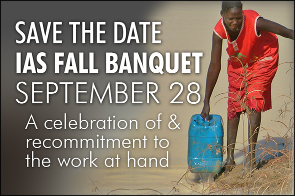 SAVE THE DATE: IAS FALL BANQUET