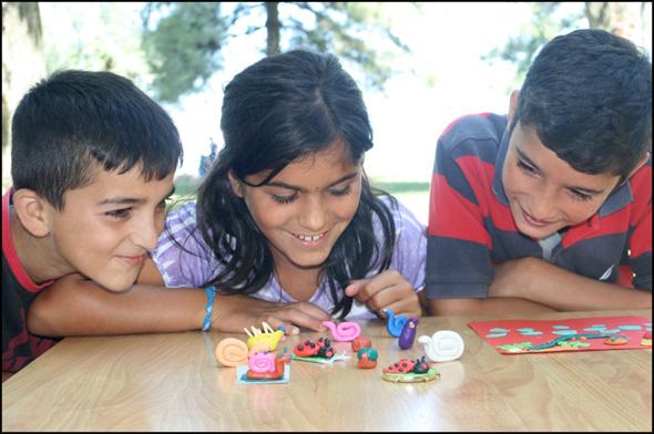 Amaro Tan students enjoy a fun activity during their 2014 summer camp.